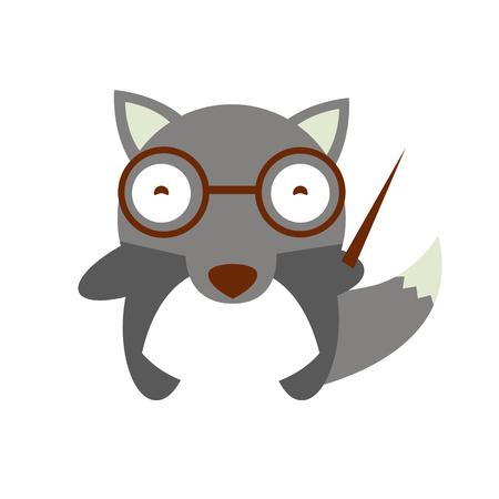 lobo: Ilustraci�n del lobo de la historieta.