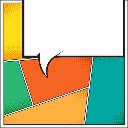 Sprechblase im Pop-Art-Stil. Lichtenstein Pop-Art. Sprechblasen in Pop-Art-Stil. Pop-Art Comic-Hintergrund mit Platz für coments. Andy Warhol Pop-Art- Standard-Bild - 46343446