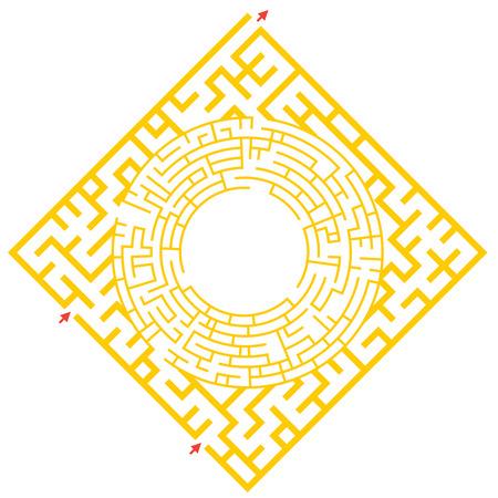 Visual game for Preschool Children. Funny maze game for kids. Vector Labyrinth for preschool children. Rebus or quiz for school