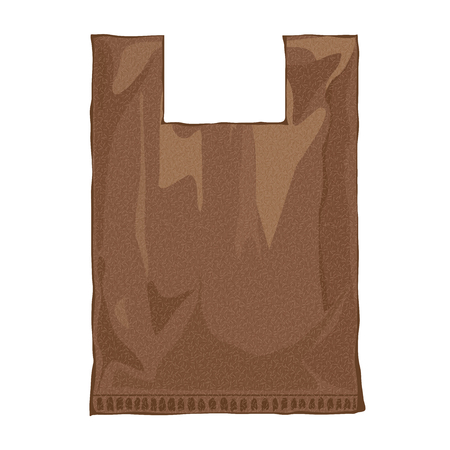 brown paper bag: Brown paper bag. Paper bag food image.