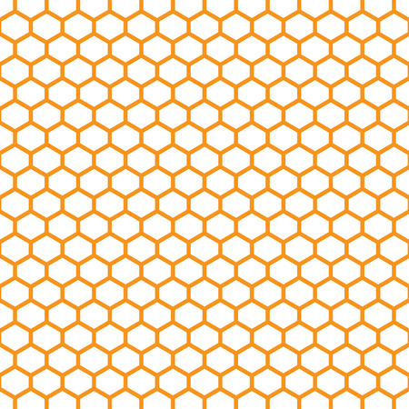 beeswax: Vector illustration of geometric pattern with honeycombs