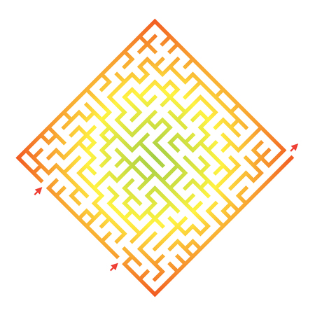 iq: Labyrinth for preschool children. Rebus or quiz for school. Funny maze game for kids. Visual game for Preschool Children