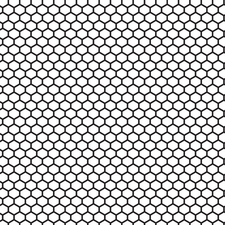 speaker grille: Hexagonal cell texture, Honeycomb, Speaker grille. Vector Grid background Illustration