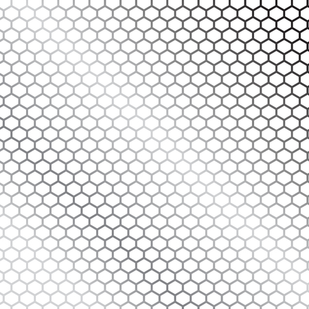 rapport: Hexagon textured for technology white background.