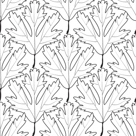 Floral ornament for adult anti stress. Coloring book page with high details. Pattern for coloring book in vector.