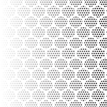 fading: Abstract retro pattern. Halftone effect illustration. Abstract dotted backgroun