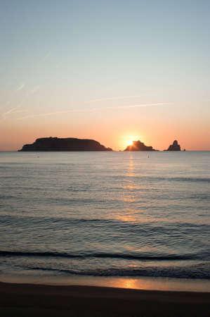 mediterraneo: Sunset Stock Photo
