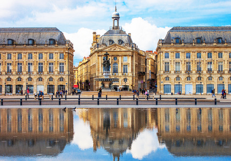 gothic build: Bordeaux Place de la Bourse