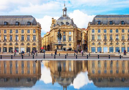 gothic build: Bordeaux Place de la Bourse