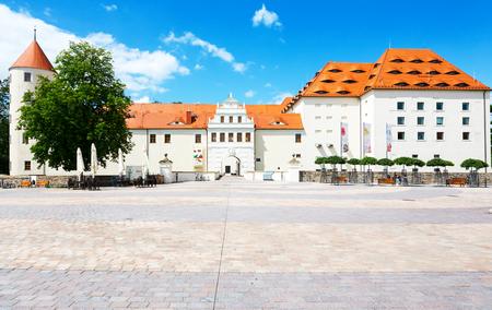 城 Freudenstein フライベルク、ザクセン州、ドイツ