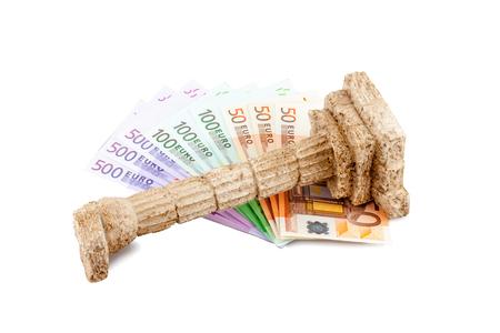 Grichischer 列、ギリシャ危機でユーロ紙幣