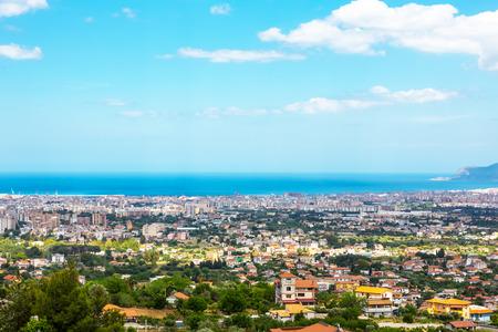 パレルモ シチリアの風景、イタリア 写真素材