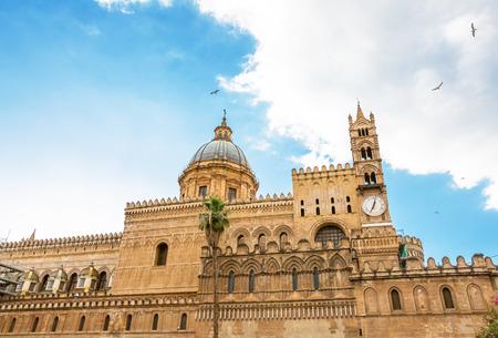 パレルモ大聖堂, シチリア, イタリア 報道画像