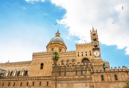 Palermo Cathedral, Sicily, Italy Editorial