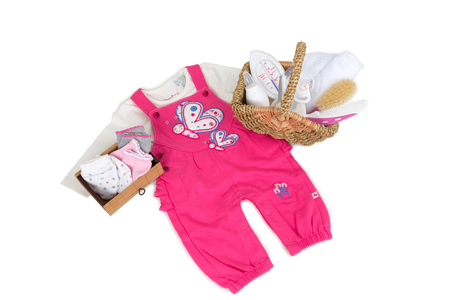 女の子のための赤ちゃんの服