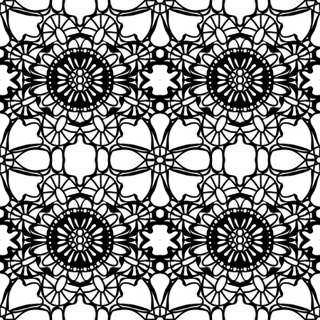 gentle: Simple pattern lace illustration Illustration