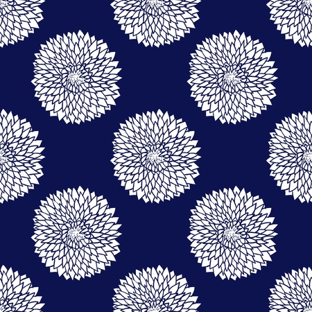 Simple blue pattern illustration