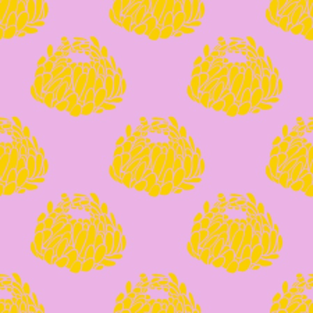 Simple pink pattern illustration