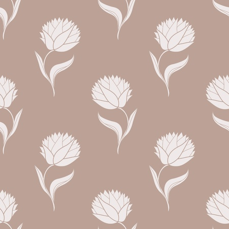 Simple brown pattern illustration Vector