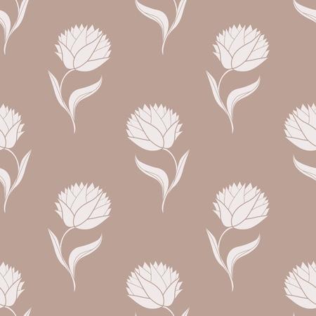Simple brown pattern illustration