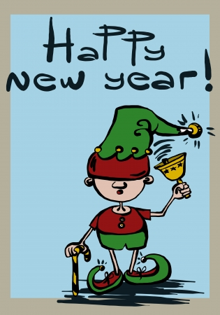 new year's: new year s elf