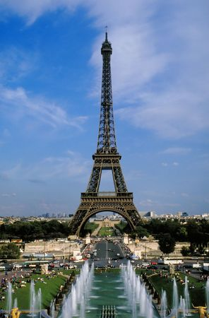 Eiffel Tower in Paris, France Stock Photo - 401948