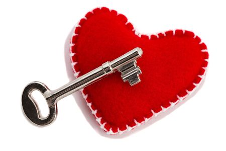 Key yo Love, Heart Stock Photo - 4731432