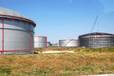 oil tank Stock Photo - 8663042