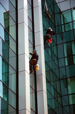 washing windows, facades 1 photo