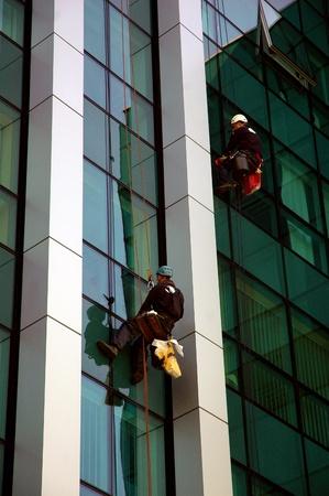 washing windows, facades 4 photo