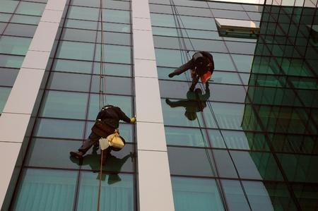 washing windows, facades 7 photo