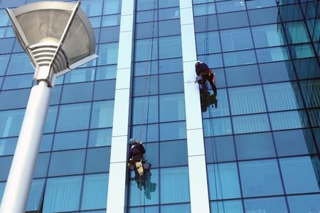 washing windows, facades 9 photo