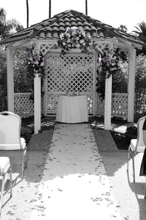 a location of a wedding