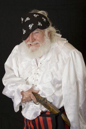 an old pirate 3 Standard-Bild