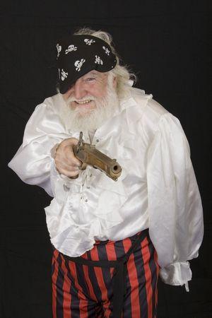an old pirate 2 Standard-Bild