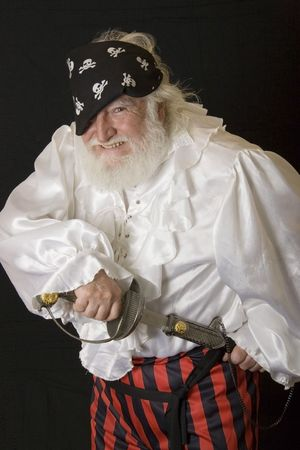 an old pirate