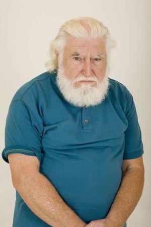 bushy: sad old man 4