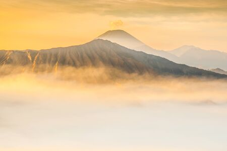 Mount Bromo is an active volcano and part of the Tengger massif, in East Java, Indonesia.