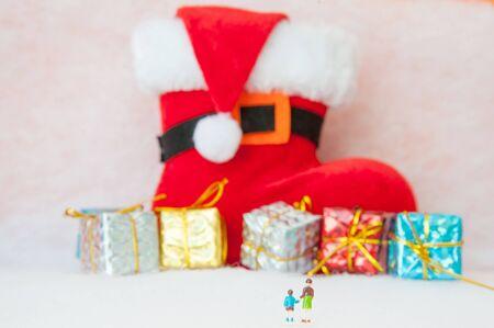 christmas gift: Big Gift Box on Christmas