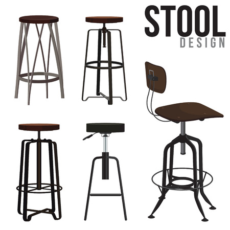 stool: Interior of the bar stool