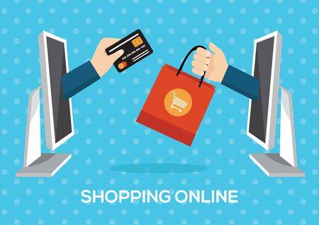 minimal: e-commerce concept minimal design