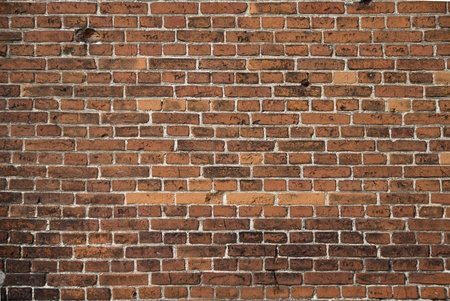 Red brick wall  in old town, background  Stock Photo - 9074047