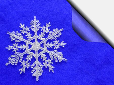 Stylized background with winter designs for scrapbooking or --other Reklamní fotografie