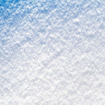 Photo of real snow colored computer