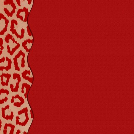 Computer design red background for scrapbooking