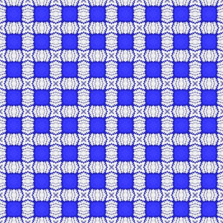 Plastic ice leaf on a blue fabric Reklamní fotografie
