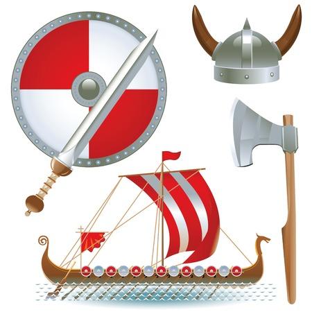 vikings: attributes Vikings