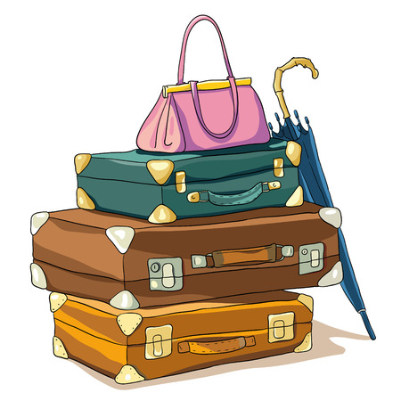 baggage Illustration