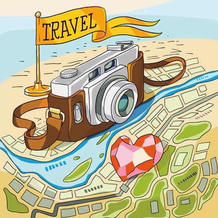 travel 向量圖像