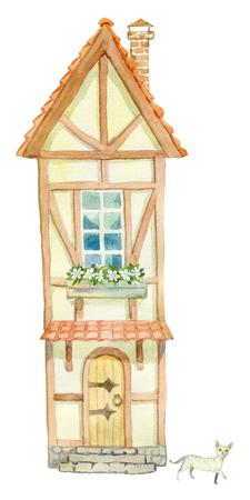 Old fairy house 版權商用圖片